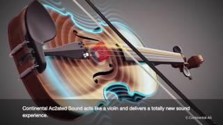 كونتينينتال تعلن عن إبتكار نظام صوتي لا يحتاج لمكبّر صوت!