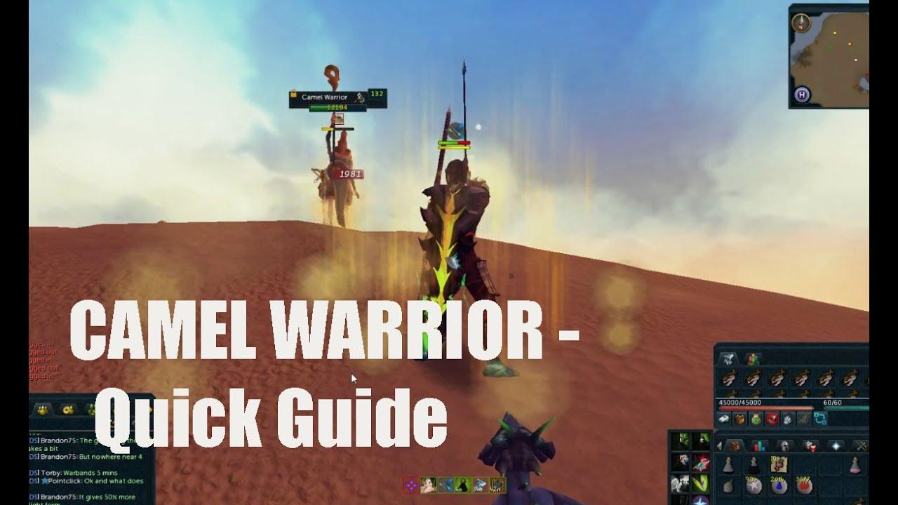 Runescape Camel Warrior Quick Guide Youtube