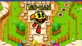 Pacman Pinball Advance Gameplay-Pac Village