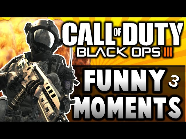 Black Ops 3 - Montage 3! (Funny Moments, raging, & Trolling)