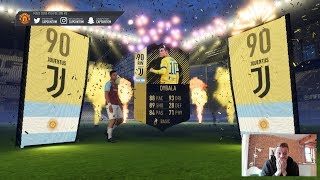 OMFG I PACKED A 90 RATED IF!!! Insane FIFA 18 Pack Opening!!!