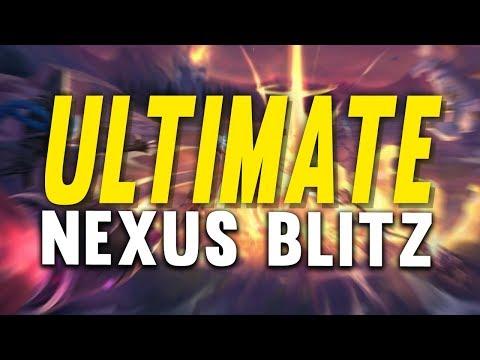 Imaqtpie - ULTIMATE NEXUS BLITZ! ft. SHIPHTUR, IWDOMINATE, HEISENDONG & REVENGE