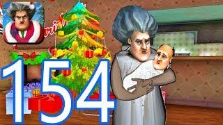Scary Teacher 3D - Gameplay Walkthrough Part 154 - New Christmas Levels  (iOS/Android))