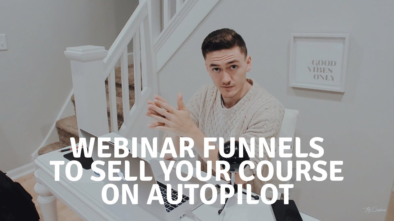 How to Sell your Course, Coaching, and Consulting on Autopilot | Webinar Funnels