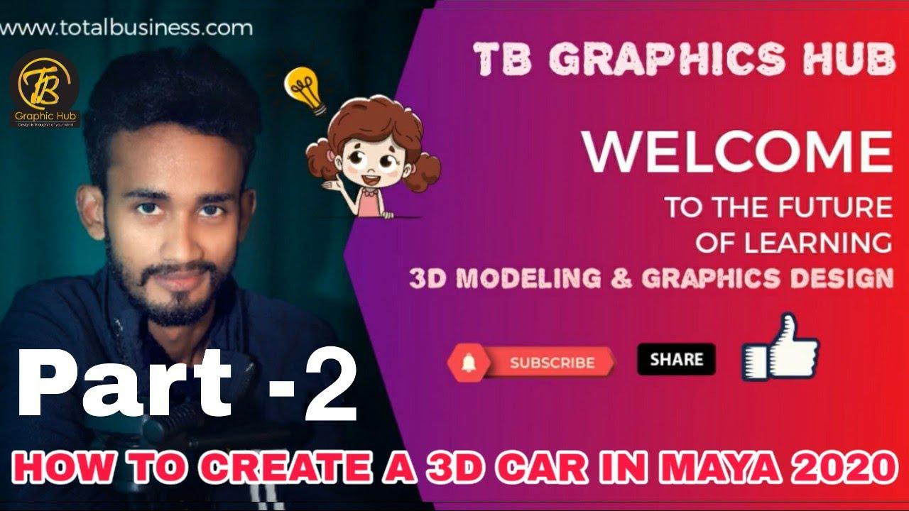 3D car Modeling-Part-2