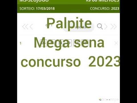 mega sena 2023