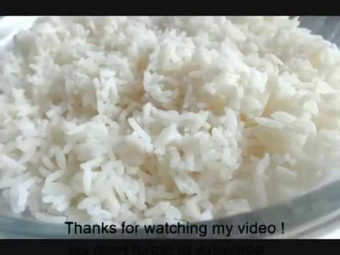 How To Make Perfect Rice In Microwave Oven Youtube
