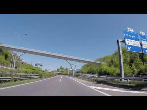 Suisse Autoroute vers Genèves, Gopro / Switzerland Motorway to Geneva, Gopro