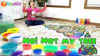 Worlds Biggest Orbeez Christmas Tree plus BONUS DESTRUCTION