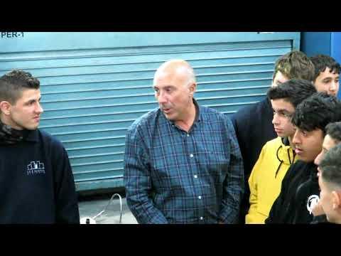 Burgos espera al alumnado de FP Básica de Vehículos del IES Almina