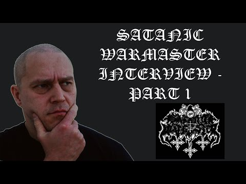 Werwolf of Satanic Warmaster talks about satanism, black met