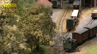 "Model Train Layout ""Ulvaryd"" by Charles Insley"