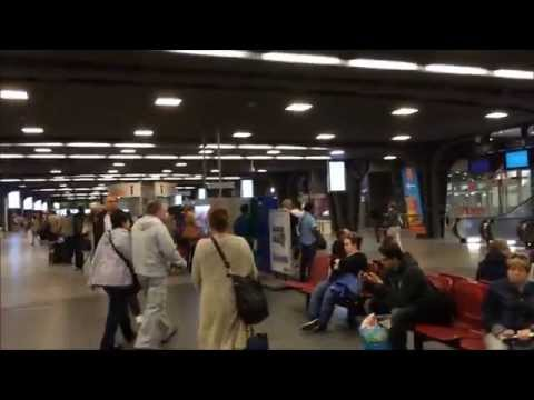Brussels Midi/Zuid Station - Brussels, Belgium August 25. 2015