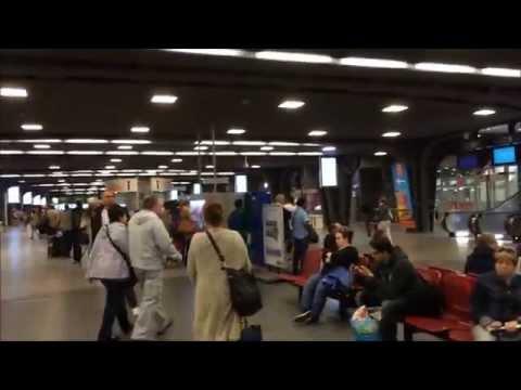 Brussels Midi/Zuid Station - Brussels, Belgium August 25. 2015