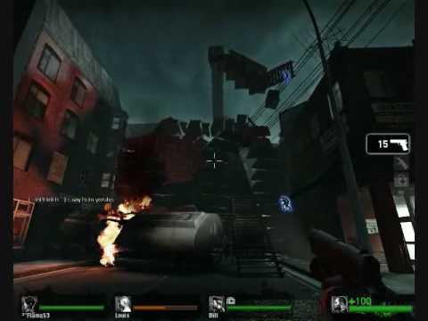 Left 4 Dead - Barricade Mod Fun