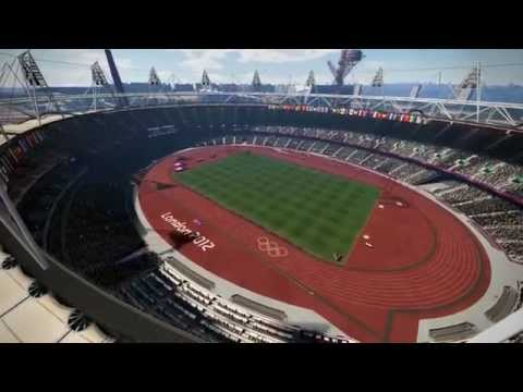 London 2012: The Official Video Game of the Olympic Games; Day 1 Mens Longjump and Womens Archery