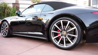 Porsche 911 Black Edition Cabriolet 2012 Videos