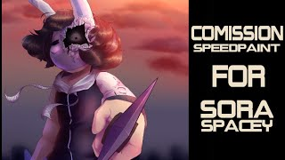 Commission speedpaint | for: sora.spacey