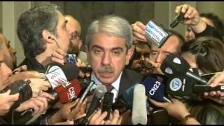 26 de OCT. Aníbal Fernández afirmó que las elecciones fueron transparentes.