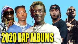 Most Anticipated RAP ALBUMS of 2020