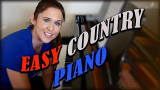 EASY COUNTRY PIANO