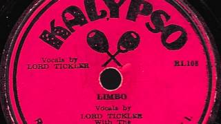 Limbo [10 inch] - Lord Tickler with The Jamaican Calypsonians