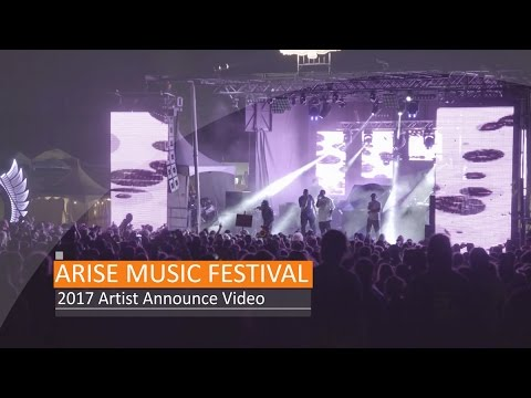 ARISE Music Festival Official Lineup 2017