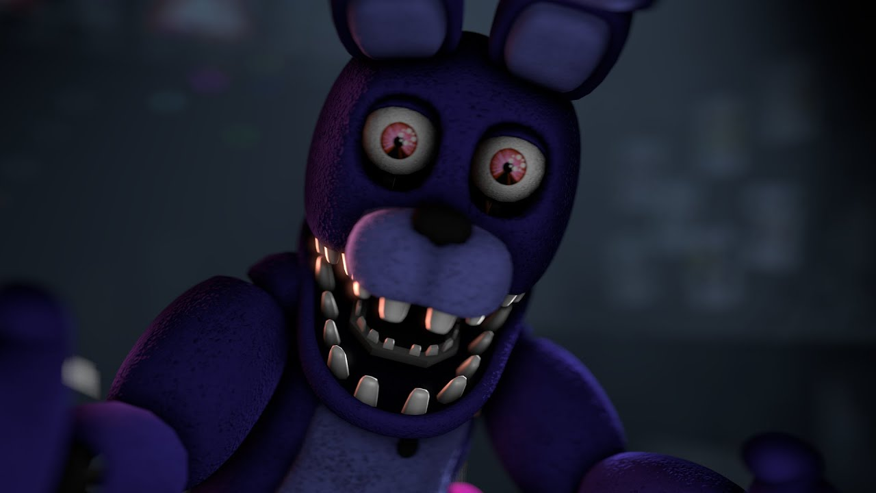 Cat Girl Live Wallpaper Apk Fnaf Sfm Unwithered Bonnie Jumpscare New Model Youtube