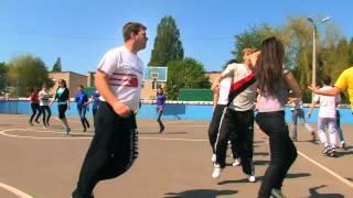 Танцевальная зарядка(Танцевальная зарядка в городе Строитель!!! Арт агентство