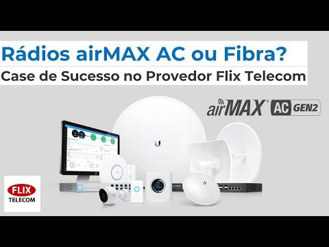 Rádios airMAX AC ou Fibra? Case de Sucesso no Provedor Flix Telecom (RJ)