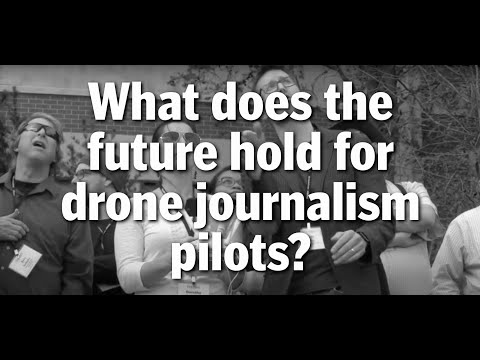 Matt Waite, founder of the Drone Journalism Lab | The Poynter The Drone Journalism School