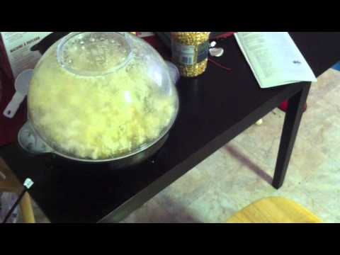 Cats and the Popcorn Popper