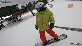 Поездка на горнолыжный курорт Norquay Ski Resort покататься на сноуборде