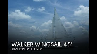 Used 1995 Walker Wingsail 45 converted to Carbospars Aerorig for sale in Islamorada, Florida