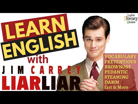 Learn English with Hollywood Movie Liar Liar & Jim Carrey | Funniest English Vocabulary Lesson Ever