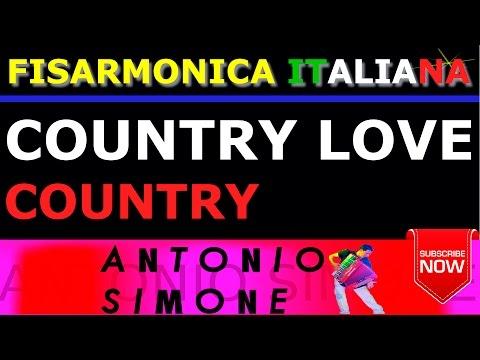 COUNTRY LOVE - COUNTRY - FISARMONICA ITALIANA BASI MUSICALI E PARTITURE - BALLO LISCIO