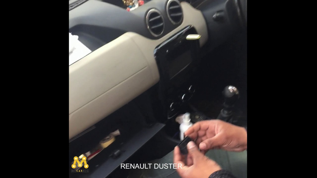 Renault Duster Obd Port Location Youtube