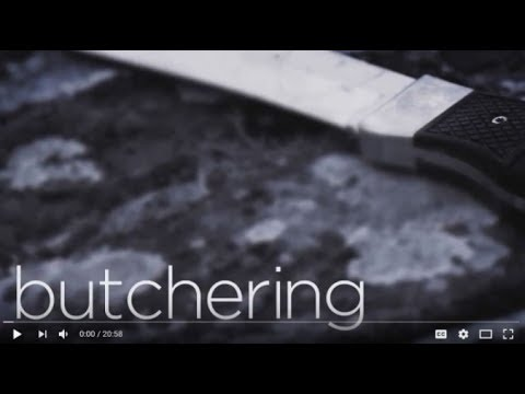 Butchering Deer for the best table fare with Chef Mike Robinson & the Mike Robinson Hunting Knife