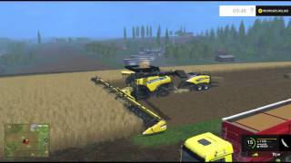 Farming Simulator 15 PC Mod Showcase: New Holland Combine