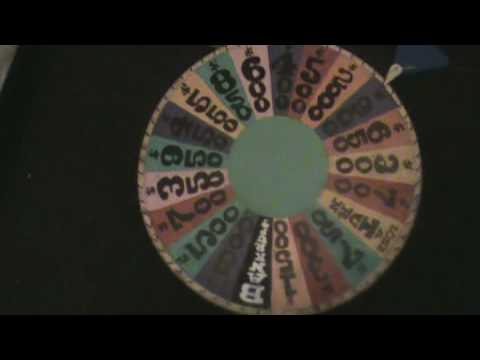 how to make your own wheel of fortune - youtube, Powerpoint templates