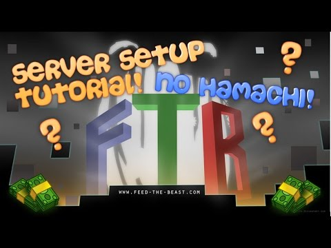 How To Create A FTB Server | Play With Friends!
