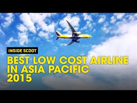 2015 Best Low Cost Airline in Asia Pacific by AirlineRatings.com - Scoot