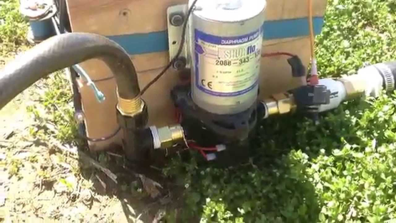 Battery Operated Pump Drip Irrigation System 12v Youtube