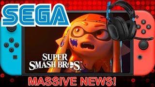 Massive News- GameStop Using Custom Smash Bros Cover- Sega New Console- Wolfinstein 2 Switch & More