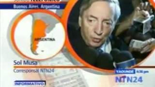 Muere Ex Presidente De Argentina Nestor Kirchner