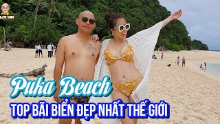 Boracay Trip| Boat Tour (P3)| Puka Beach - One of the best beaches in the world