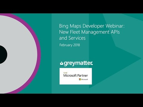 Related Microsoft Bing Maps Truck Routing API Videos