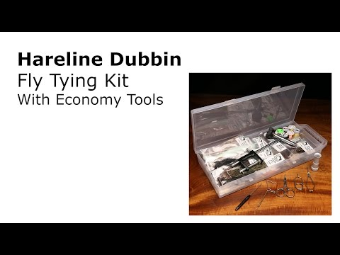 Hareline Dubbin Fly Tying Kit Economy Tools Review | AvidMax - YouTube