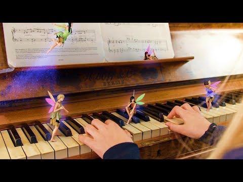 Graban en  la Música de las Hadas Reales
