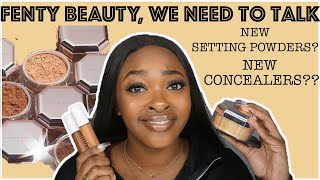 FENTY BEAUTY, WE NEED TO TALK! | NEW PRO FILT'R  CONCEALERS AND NEW SETTING POWDERS | MAYA'S MAKEUP